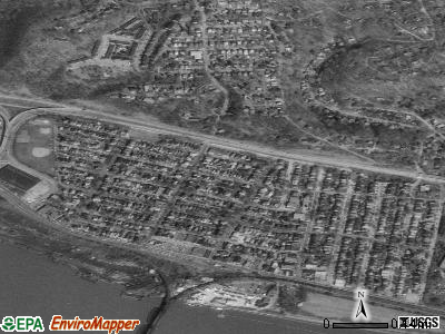 Aspinwall satellite photo by USGS