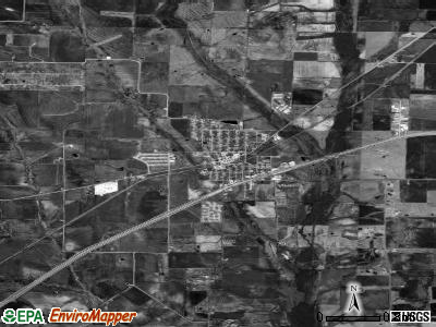 Royse City satellite photo by USGS