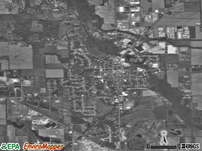Middlebury satellite photo by USGS