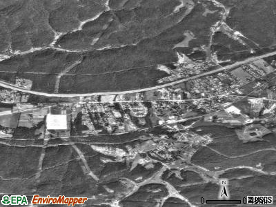 Culloden satellite photo by USGS