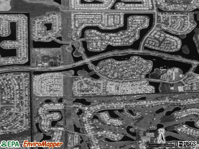 Mission Bay satellite photo by USGS