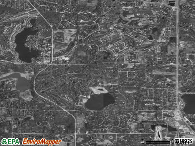 North Barrington satellite photo by USGS