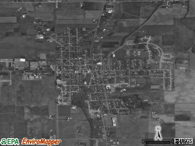 New Bremen satellite photo by USGS