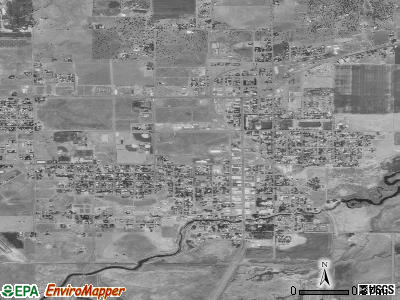 Alturas satellite photo by USGS