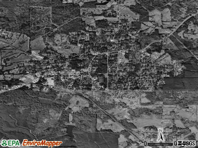 Many satellite photo by USGS