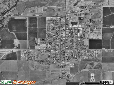Yerington satellite photo by USGS