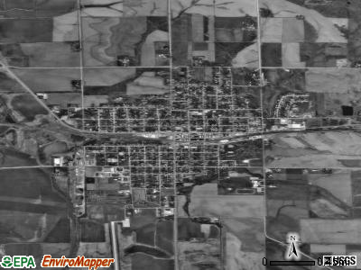 Belle Plaine satellite photo by USGS