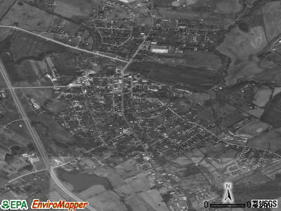 Hodgenville satellite photo by USGS