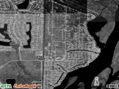 Harbour Heights satellite photo by USGS