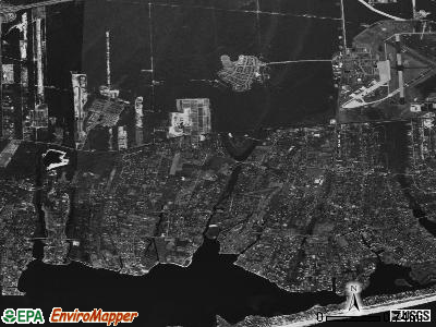 Westhampton satellite photo by USGS