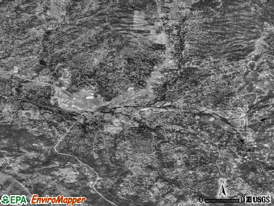 Oakhurst satellite photo by USGS