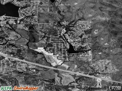 Willow Park satellite photo by USGS