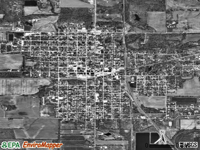 Christopher satellite photo by USGS