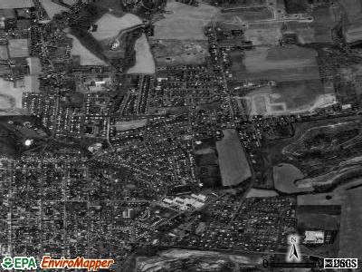 Eastlawn Gardens satellite photo by USGS