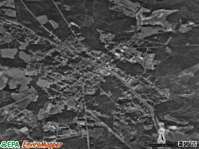 Soperton satellite photo by USGS