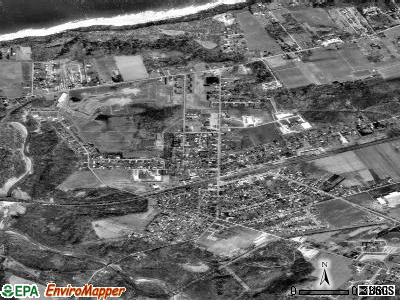 Lake City satellite photo by USGS