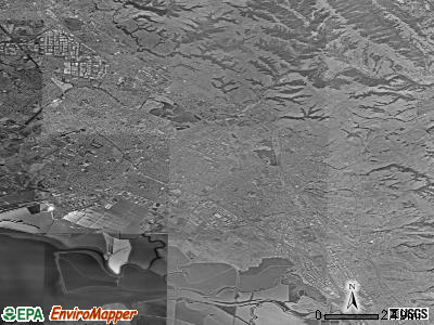 Fremont satellite photo by USGS