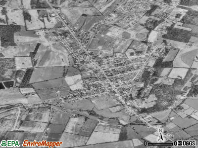 Boonsboro satellite photo by USGS