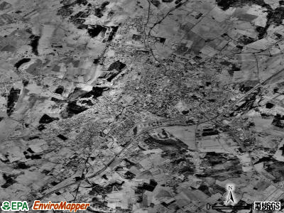 Harrisonburg satellite photo by USGS