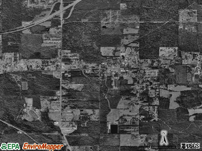 Haughton satellite photo by USGS
