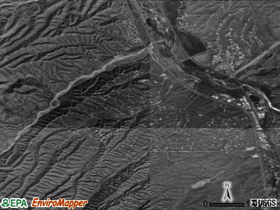 Rio Rico Southwest satellite photo by USGS