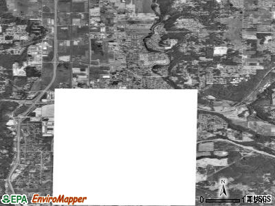 Auburn satellite photo by USGS