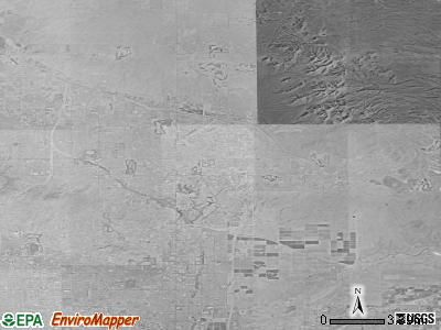 Scottsdale satellite photo by USGS