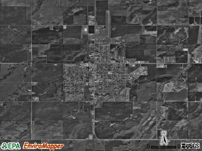 Fairview satellite photo by USGS