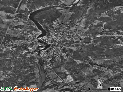 Neillsville satellite photo by USGS
