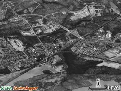 Monmouth Junction satellite photo by USGS