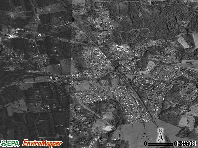 Voorheesville satellite photo by USGS