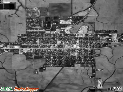 Metamora satellite photo by USGS