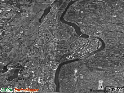 Holyoke satellite photo by USGS