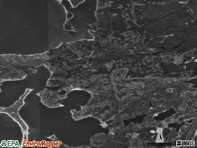 Pocasset satellite photo by USGS