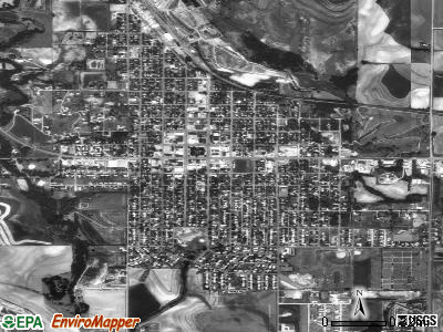 Phillipsburg satellite photo by USGS