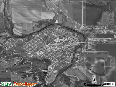 Castroville satellite photo by USGS