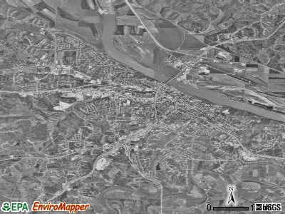 Jefferson City satellite photo by USGS