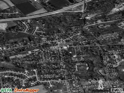 West Grove satellite photo by USGS