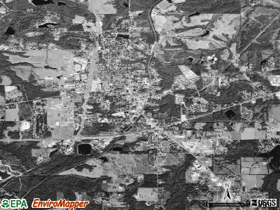 Poplarville satellite photo by USGS