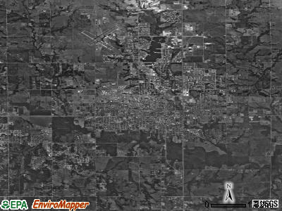 Stillwater satellite photo by USGS