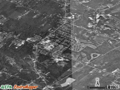 Cumberland Center satellite photo by USGS