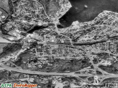 Netcong satellite photo by USGS