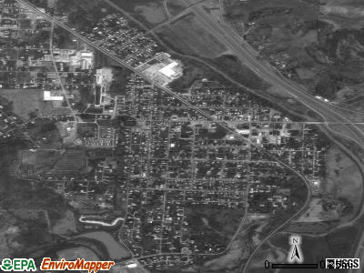 Byesville satellite photo by USGS