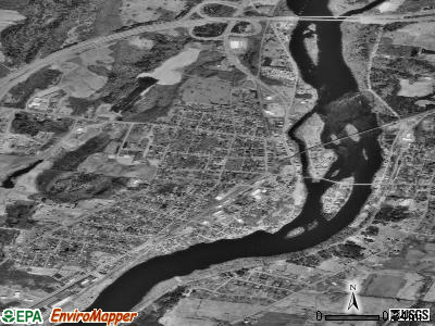 Fairfield satellite photo by USGS