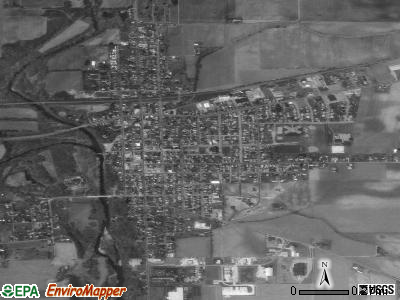 Covington satellite photo by USGS