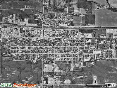 Kimball satellite photo by USGS