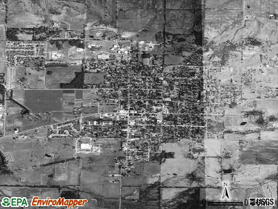 Prairie Grove satellite photo by USGS