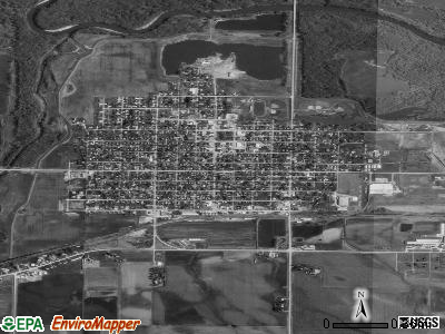 Marengo satellite photo by USGS