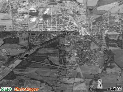South Fulton satellite photo by USGS