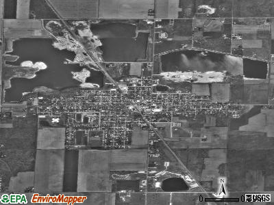 Gibsonburg satellite photo by USGS